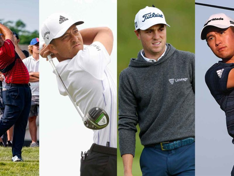 The Olympic Golfers at Tokyo 2020
